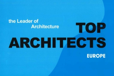 "0580-""TOP ARCHITECTS EUROPE - The Leader of Architecture"""